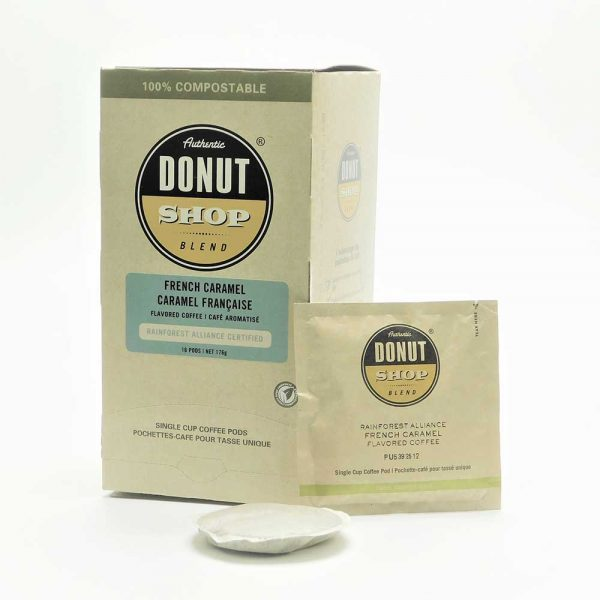 Donut Shop French Caramel Coffee
