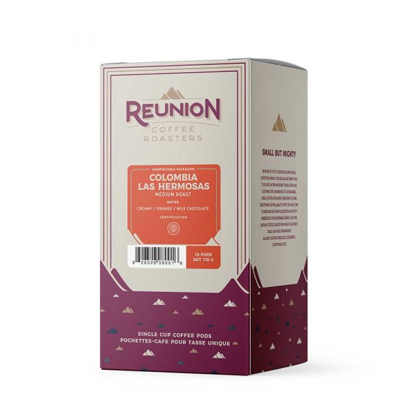 Reunion Island Colombia Las Hermosas Medium Roast Coffee