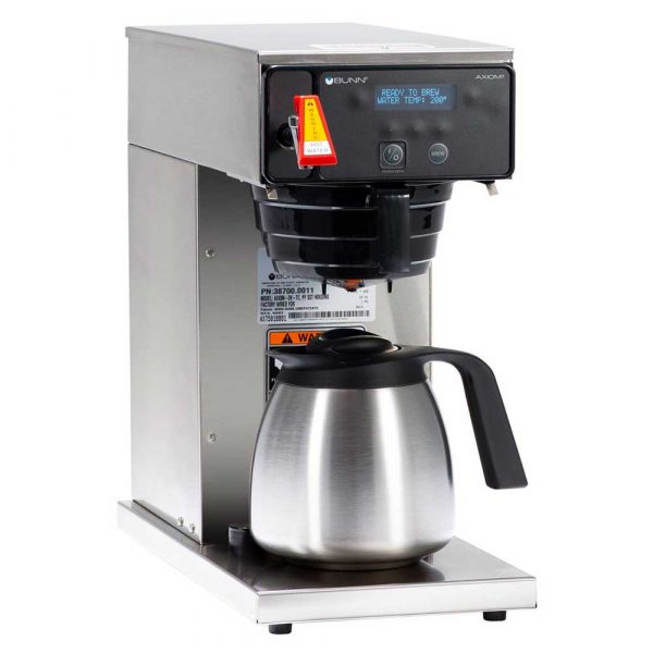Bunn AXIOM®DC TC Dual-Voltage Thermal Carafe Coffee Brewer