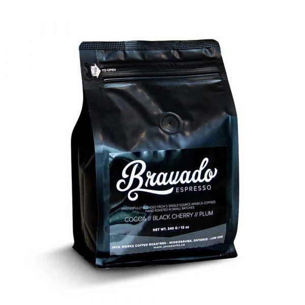 Java Works Bravado™ Gourmet Espresso Coffee