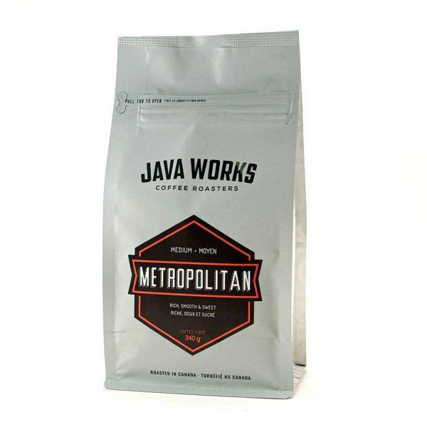 Java Works Metropolitan Roast Coffee