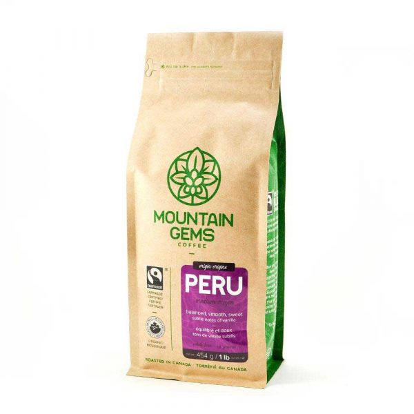 Java Works Mountain Gems Peruvian Coffee