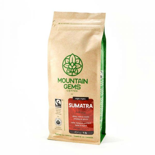Java Works Mountain Gems Sumatra Coffee