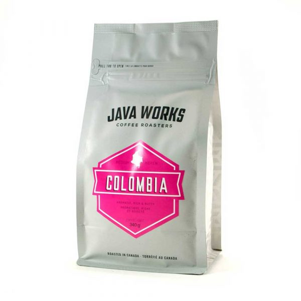 Java Works Single Origin Colombia Coffee