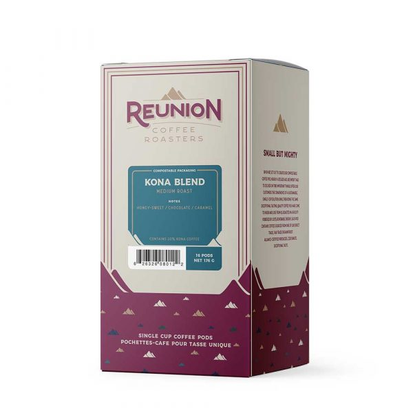Reunion Kona Blend Dark Roast Coffee