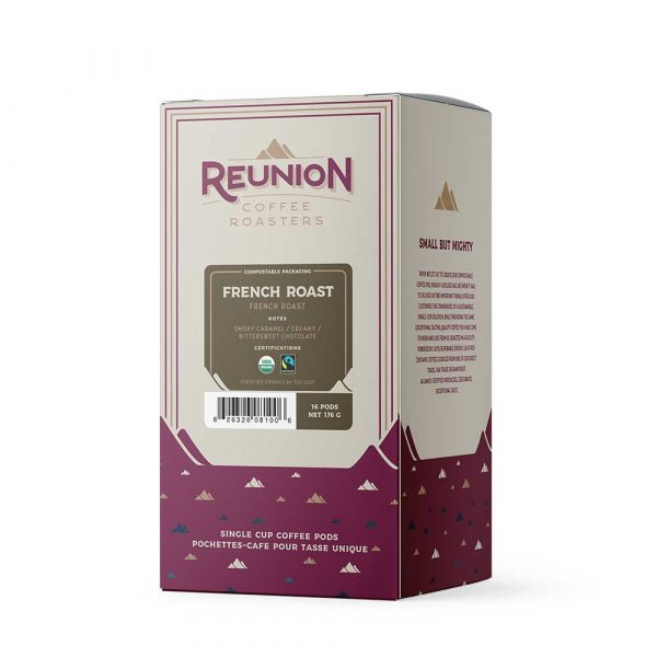 Reunion Organic French Roast Dark Roast Coffee