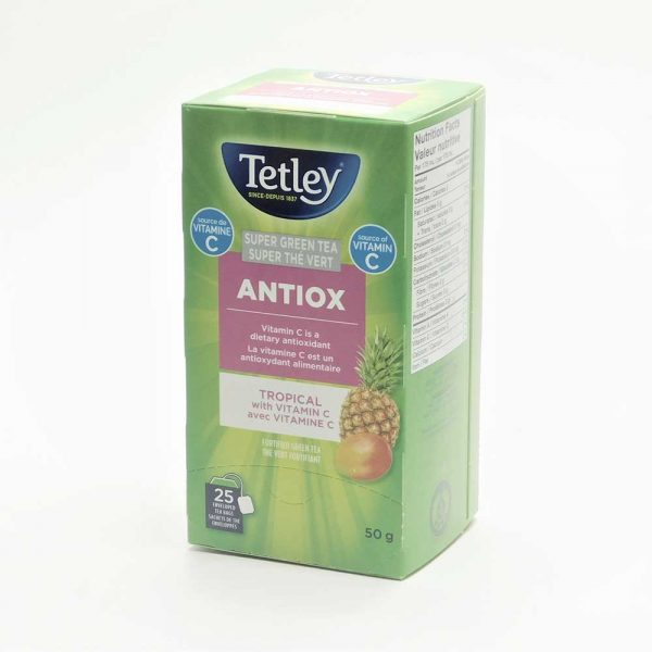 Tetley Super Green Antiox Tropical Tea (with Vitamin C)
