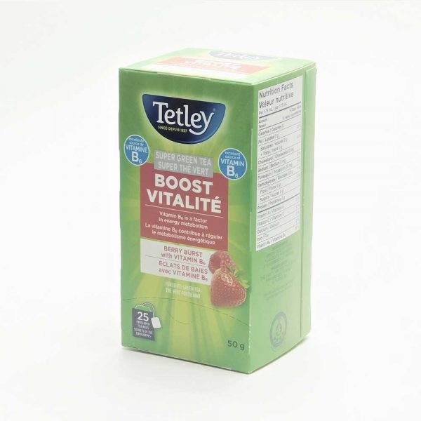 Tetley Super Green Berry Burst Tea Boost (with B6)