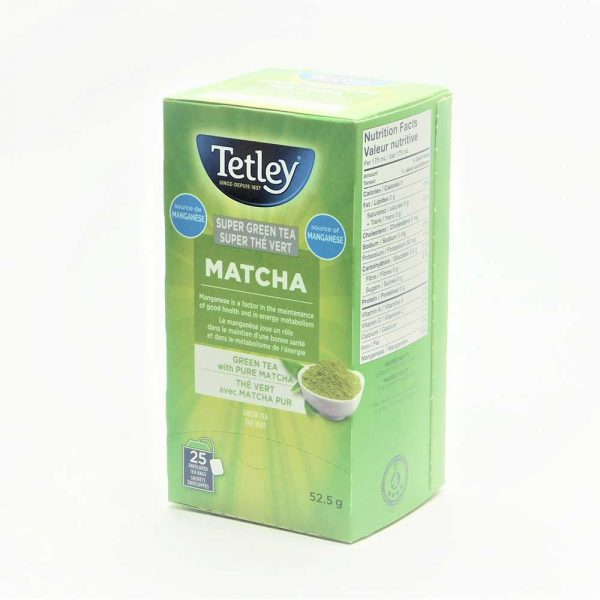 Tetley Super Green Matcha Tea (with Manganese)