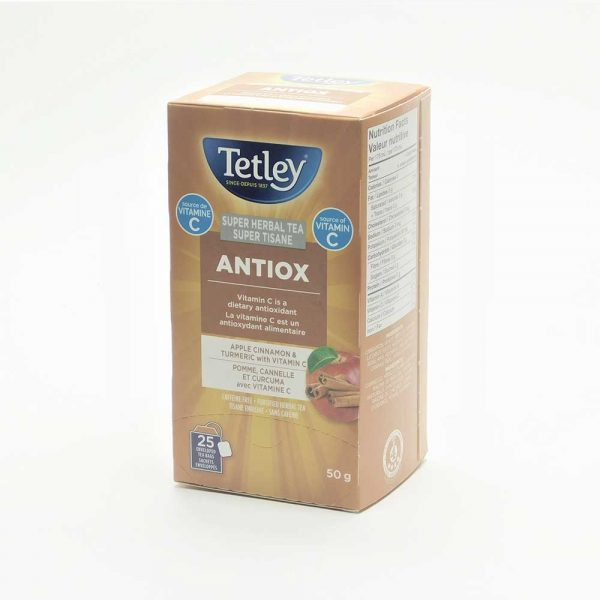 Tetley Super Herbal Antiox Tea (with Vitamin C)