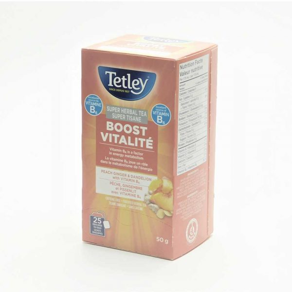 Tetley Super Herbal Tea Boost (with B6)